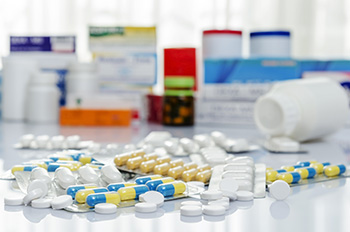 Rx Bottles and pills are part of Medicare Part D coverage
